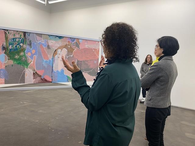 Candida Alvarez at Monique Meloche Gallery