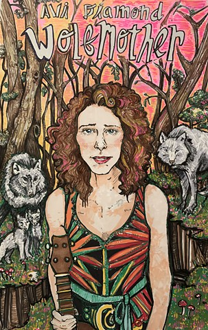 Avi Diamond Wolfmother Poster #2