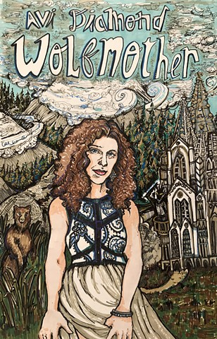 "Avi Diamond ""Wolfmother"" Poster #1"