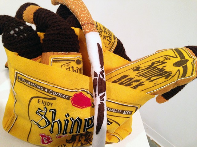 Beer and Cigarette Whip (detail)