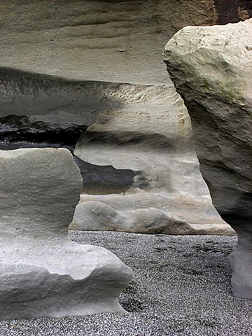 Punikaiki Rocks, Wind Erosion, Ancient Formations, Beach of Giants