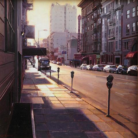 Sunrise on Geary Street
