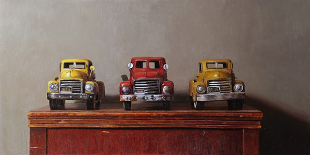 3 Toy Trucks