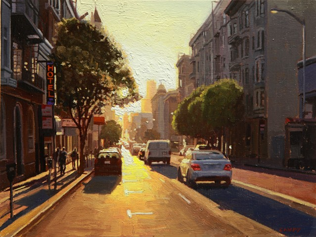 Sunset in the Tenderloin