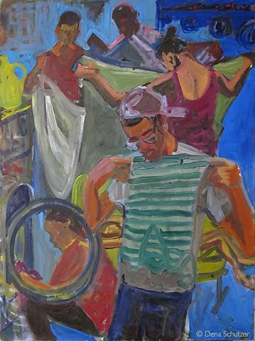 Laundromat-6 Figures