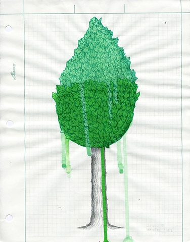 TREES: Sketch for The Lacemakers
