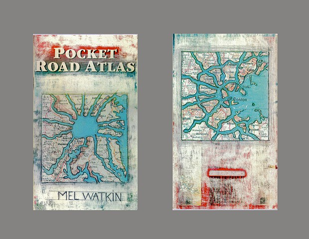 Pocket Road Atlas Cover & 8 full color pages