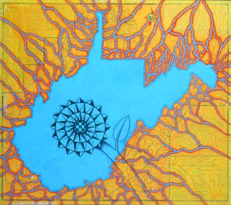 *Compass Rose: Great Lake*