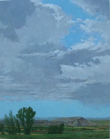 Sky over Melba Valley