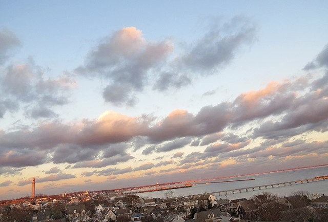 Provincetown Skyline - West End View © Sally Brophy