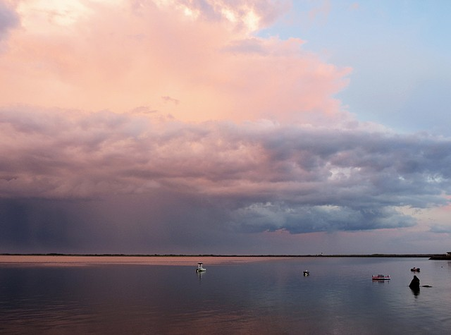 Sunset Inside Thunderstorm West End, Provincetown, MA © Sally Brophy