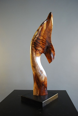 Maui, Hawaii, wood sculpture