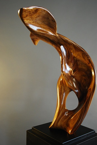 Maui Hawaii Wood sculpture reclaimed wood