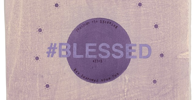#BLESSED: Detail of previous image