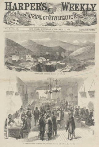 Harper's Weekly on Gilpin County