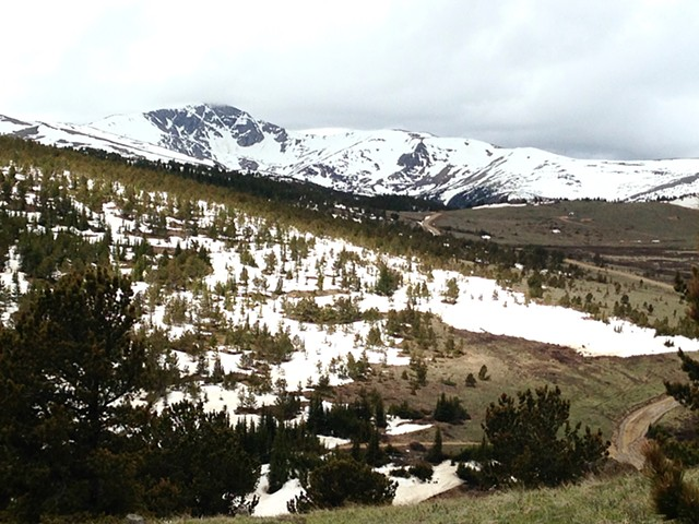 Spring thaw along Continental Divide