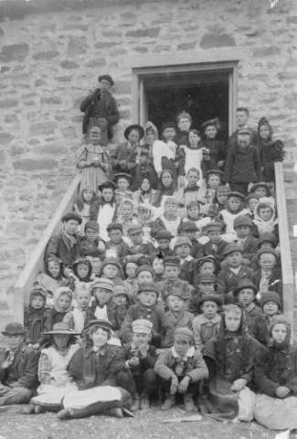School Days in Russell Gulch