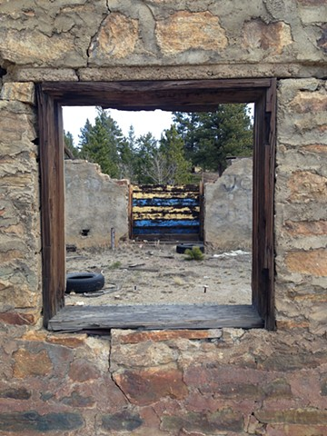 Ruins of Miner's Building, Clear Creek County, Colorado