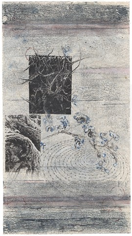 photolithograph, lithography, monoprint, monotype, mixed media, printmaking