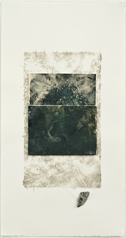 Printmaking, lithography, works on paper, mixed media