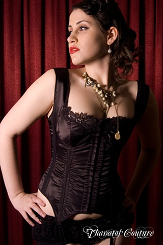 Lingerie Corset Model: Ophelia  Photographer: Paul Hackett