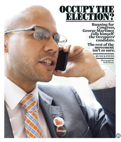 The Village Voice Occupy the Election
