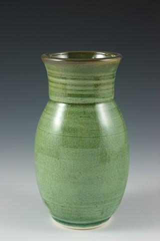 Stoneware Vase by Tom Szmrecsanyi
