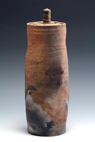 Saggar-Fired Jar by Tom Szmrecsanyi