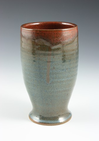 Stoneware Pint by Tom Szmrecsanyi