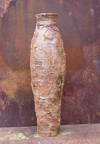Vase with Texture Glaze by Tom Szmrecsanyi