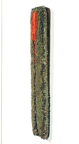 Ceramics Sculpture Clay, Glaze, Enamel, Felt, Wax, Wood by Tom Szmrecsanyi