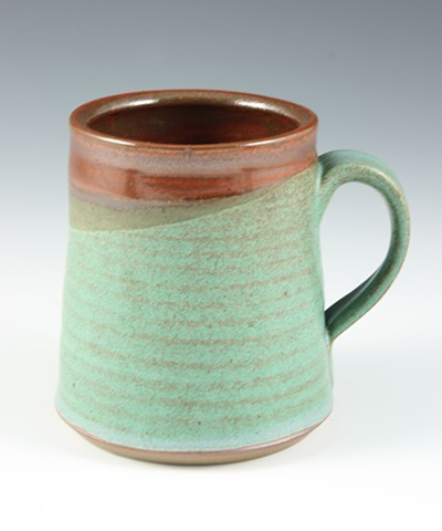 Stoneware mug by Tom Szmrecsanyi