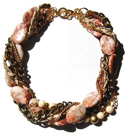 Holy Harlot Jewelry Jasper Twist Swirl Choker Chains Holy HArlot Jewelry Edgy Eclectic Urban