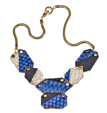 Cleo Necklace Holy Harlot Jewelry Snakeskin