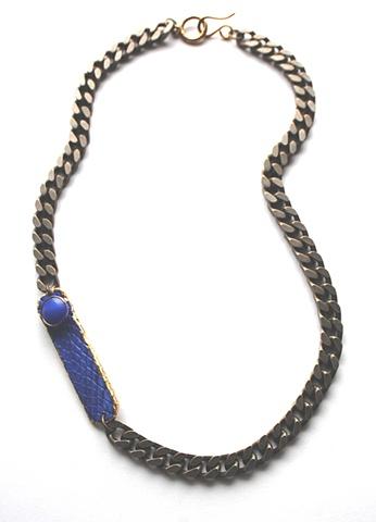 Holy Harlot Jewelry Slim Graffiti Tag Necklace