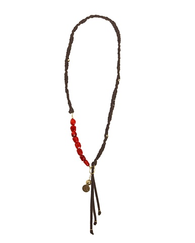 HOLY HARLOT JEWELRY CORAL PRAYER BEAD NECKLACE