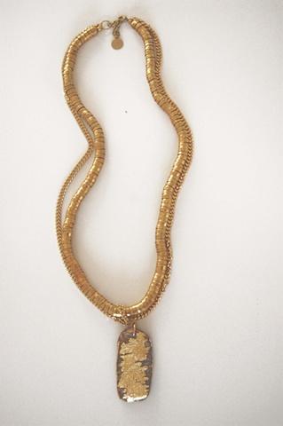 Holy Harlot Jewelry Custom Drifteood Gold Necklace