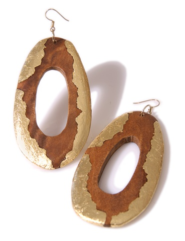 HOLY HARLOT JEWELRY MIMA WOOD EARRINGS