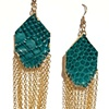GEM EARRINGS Turquoise