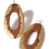 MIMA WOOD EARRINGS