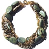 JASPER TWIST CHOKER Green Lace