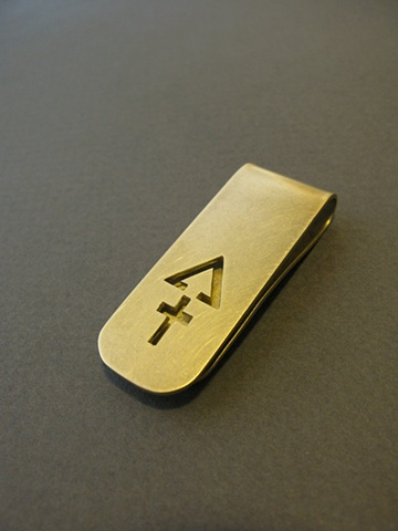 sulfur money clip