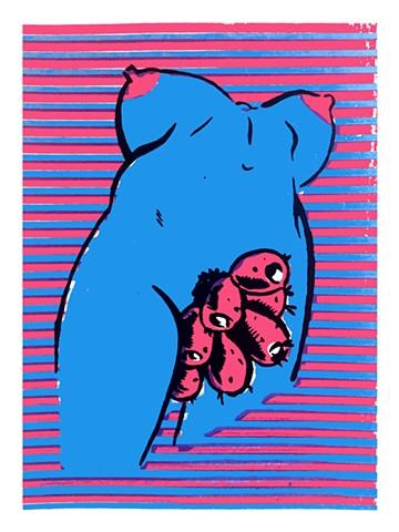 La Chumbera Azul