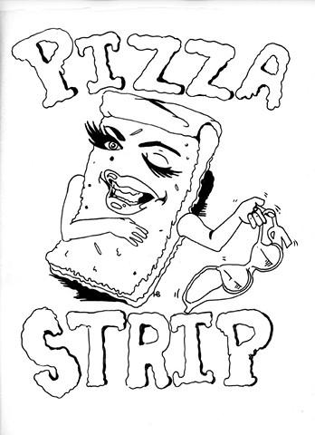Pizza Pizza Strip bra