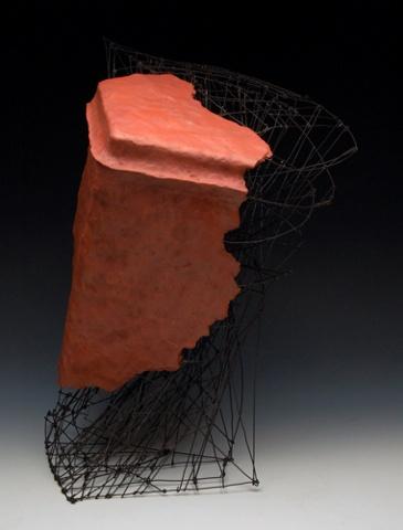 Artifact earthenware with terra sigilatta, wire
