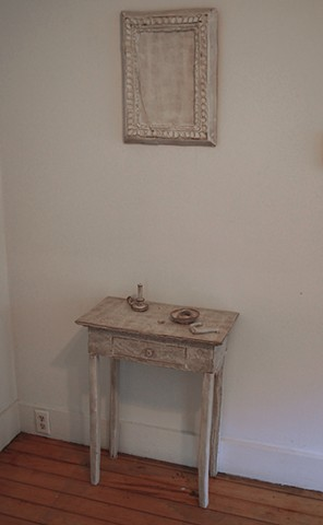 Night Table with Mirror