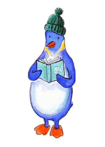 penguin illustration childrens books igloo
