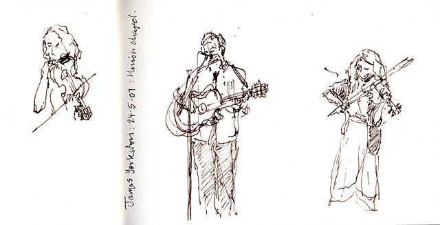 James Yorkston & Martin Carthy Union Chapel 24.5.07