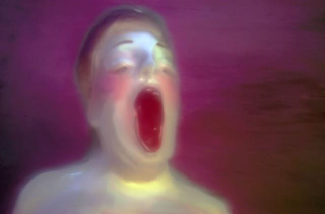 "Sophie Tucker 2011 zone plate photograph archival pigment print 20""x13"""