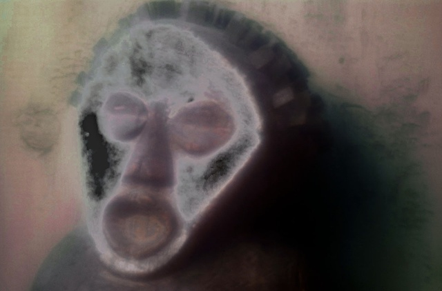 "Monkey Drum 2011 zone plate photograph archival pigment print 20""x13"""